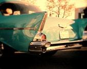 Instant Download Aqua Vintage  Bel Air Car Home Decor Digital Download Photography Commercial Use