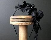 Floral Headband- Garden Wedding- Bridemaid Accessories- Flower Crown- Boho Weedding
