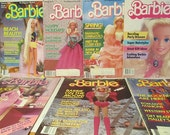 1984, 1985 and 1986 Barbie Magazine Collection