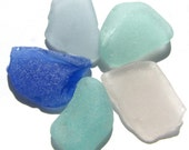 Pacific Ocean, Genuine Found Sea Beach Glass - Pastel Lot