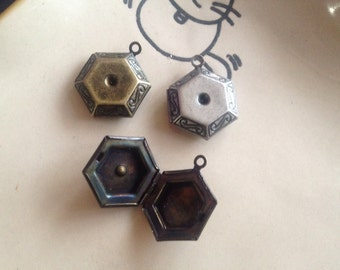 HEXAGON - LOCKET 20x18 mm - Code 201.935