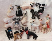 Custom Made-to-order - YOUR Individual and Unique Pet - Character Doggy, Kitty, ANY Animal Quilty Critter