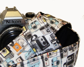 Camera Strap -  A collection of Cameras - SLR, DSLR