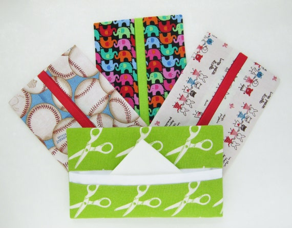 YOU CHOOSE Gift Pack of 5 Tissue Holders