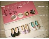 Japanese Sewing Pattern Book Zakka Cotton Linen aprons, slippers, handbags, wallets, corsages