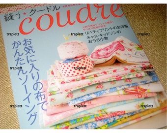 Japanese Sewing Craft Pattern Book Coudre Cotton Linen Zakka