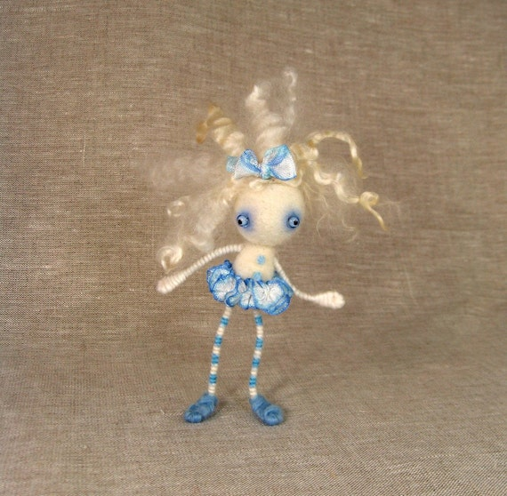 Marina the Crazy Haired Ballerina Dolly