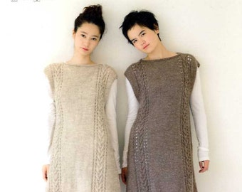 Nice Knit Wear for Any Body Shapes - Japanese Crochet Book