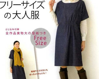 Comfortable One Size Clothes - Japanese Craft Book