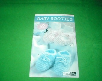 Baby Booties knit and crochet book