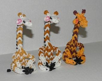 Rainbow Loom Giraffes!