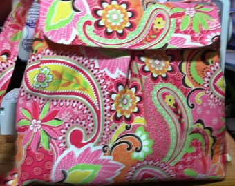 Stylish Bright Handcrafted Purse, Bag, Tote