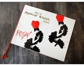 Vintage Moulin Rouge Book - Frisson