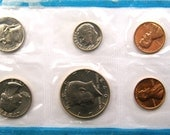 1972 Mint Set US COINS P, D, S Mints