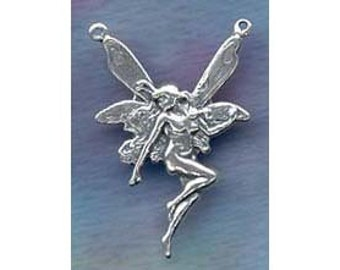Fairy Finding Centerpiece Station Component Sterling Silver Jewelry Faery   FAY049