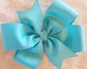 Solid Grosgrain Pinwheel Bow- You Pick Color