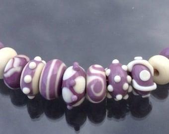 Handmade Lampwork Glass Beads (11) bbblampwork SRA