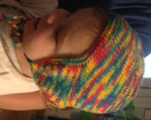 Cozy Earflap Hat Pattern Instant Download