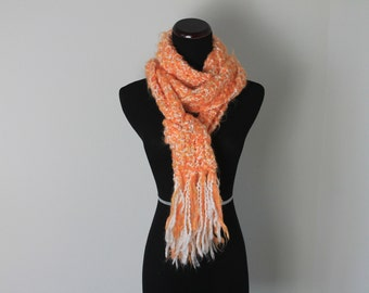 Orange Long  Scarf