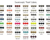 Swarovski Elements Crystal 5810 4mm Pearl Beads You Pick 5 x 50 pieces (250 Total)