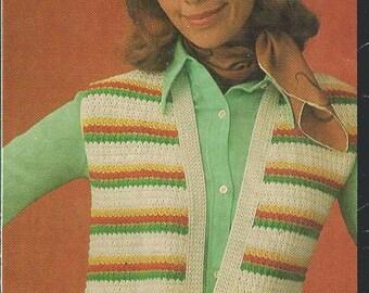 Crochet Vest Pattern (Cleck)