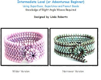 Beading Tutorial - Spice Bracelet Pattern - Right Angle Weave