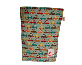 CLEARANCE Reusable Snack Sack | Crazy Cars