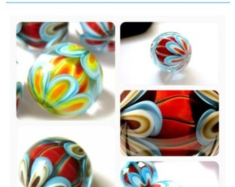Paradise bead tutorial (german) by Carla di Francesco