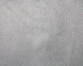 Steel Blue Herringbone Chenille Striped Upholstery Fabric