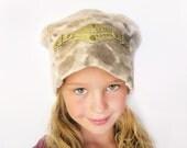 Golden Girls Angora blend Hat, fits preteen to adult medium