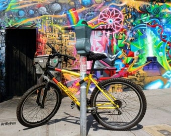 Park Your Bike And Take A Trip With Me - fine art photography - 11x14-print - wall art