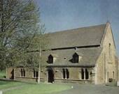 Vintage postcard, unused, Oakham Castle, Oakham, Rutland, England, United Kingdom, 1979