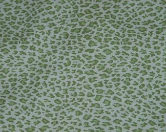 Fabric High Chair-Green Animal Print