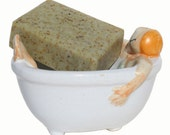 Bay Rum and Spices Lime Natural Handmade Soap