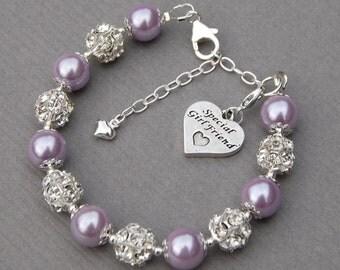 popular items for girlfriend bracelet on etsy. Black Bedroom Furniture Sets. Home Design Ideas