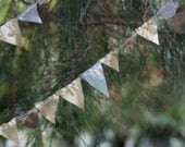 Gold and Silver Bunting 11ft