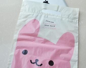 25pcs Kawaii Rabbit Giftbag(26cm x 37cm x 3cm)