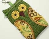 Green Vines Owl iPhone 6 Case Cell Phone iPod Touch Case