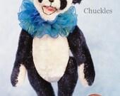 Chuckles the Panda Miniature Teddy Bear Kit - Pattern - by Emily Farmer