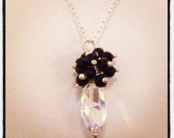 necklace,sparkly crystal
