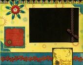 Beautiful Dreamer - 12x12 Premade Scrapbook Page