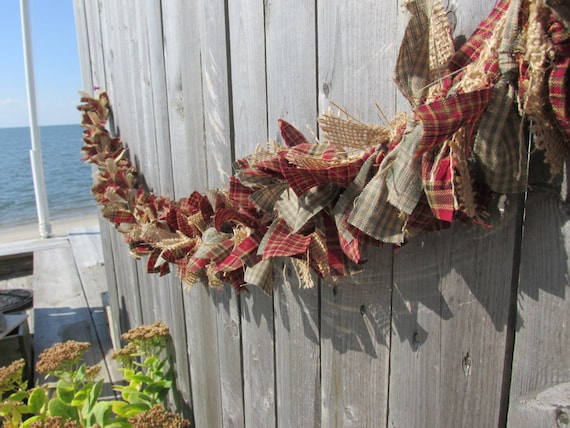 Primitive Christmas Garland