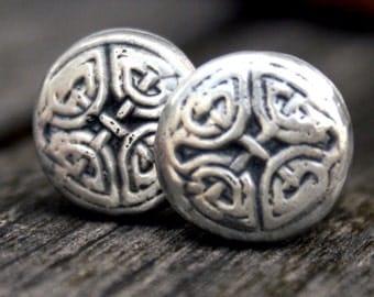 Cufflinks - Cuff Links - Celtic Eternal Knot
