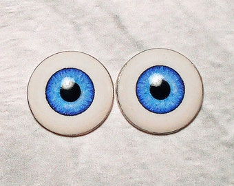 Doll eyes 14mm AD color FrenchBlue