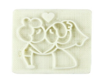 Lovers Soap Stamp