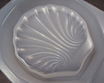 "Resin Mold Soap Dish Sea Shell 4.75"" 118mm Embed Fun Items"
