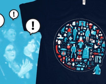 It's Tshirt (a tribute to Monty Python in 77 Icons)