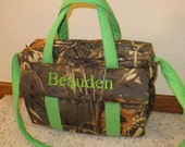 Realtree Max 4D Camo Diaper Bag w/change pad by EMIJANE