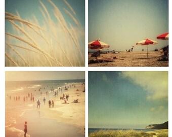 Beach Collection 2 - beach photography - beach house wall art - summer art print - blue wall art - dreamy photography - art collection
