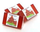 Fresh Picked Watermelon Mini Guest Bar Vegan Glycerin Handmade Soap SLS Detergent Free